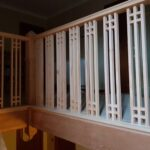 Replaced new gallery spindles
