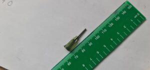 25G needle